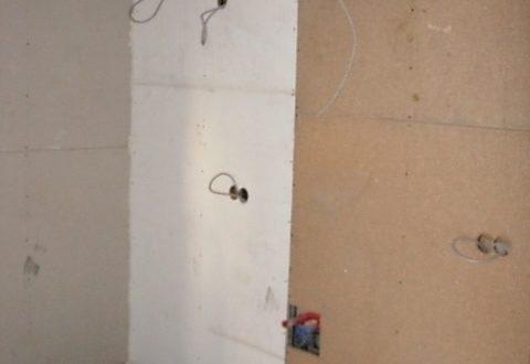bau der kueche im obergeschoss 301 - Rohbau in der neuen Küche - Trempel und Verplankung