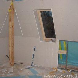 bau der kueche im obergeschoss 81 - Rohbau in der neuen Küche - Trempel und Verplankung
