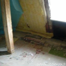bau der kueche im obergeschoss 17 - Der Einbau der Dachfenster-Einbau der Dachfenster