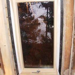bau der kueche im obergeschoss 51 - Der Einbau der Dachfenster-Einbau der Dachfenster