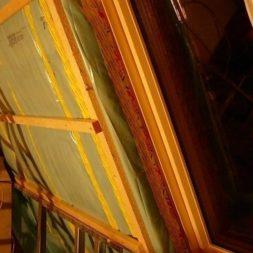 bau der kueche im obergeschoss 58 - Der Einbau der Dachfenster-Einbau der Dachfenster