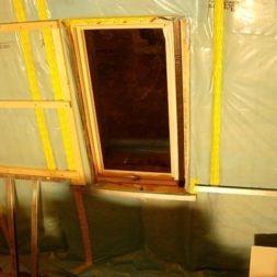 bau der kueche im obergeschoss 59 - Der Einbau der Dachfenster-Einbau der Dachfenster