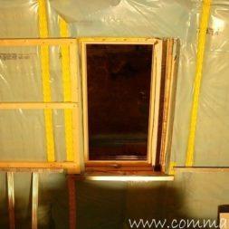bau der kueche im obergeschoss 60 - Der Einbau der Dachfenster-Einbau der Dachfenster