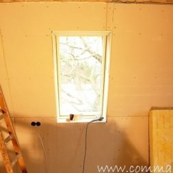 bau der kueche im obergeschoss 68 - Der Einbau der Dachfenster-Einbau der Dachfenster
