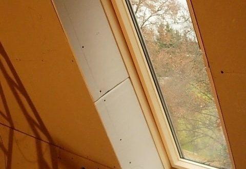 bau der kueche im obergeschoss 70 - Der Einbau der Dachfenster-Einbau der Dachfenster
