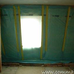 bau der kueche im obergeschoss 74 - Der Einbau der Dachfenster-Einbau der Dachfenster