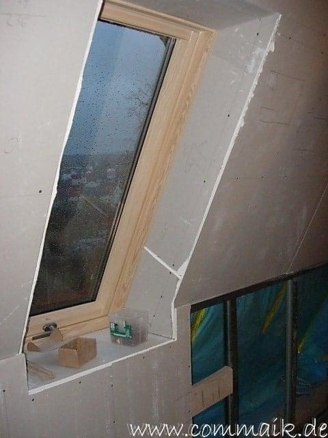 Dachfenster verkleiden  Der Einbau der Dachfenster-Einbau der Dachfenster | commaik