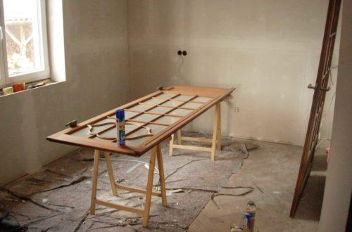 aufarbeitung der holz rahmen wohnung13 - Alte Holztüren entlacken/restaurieren