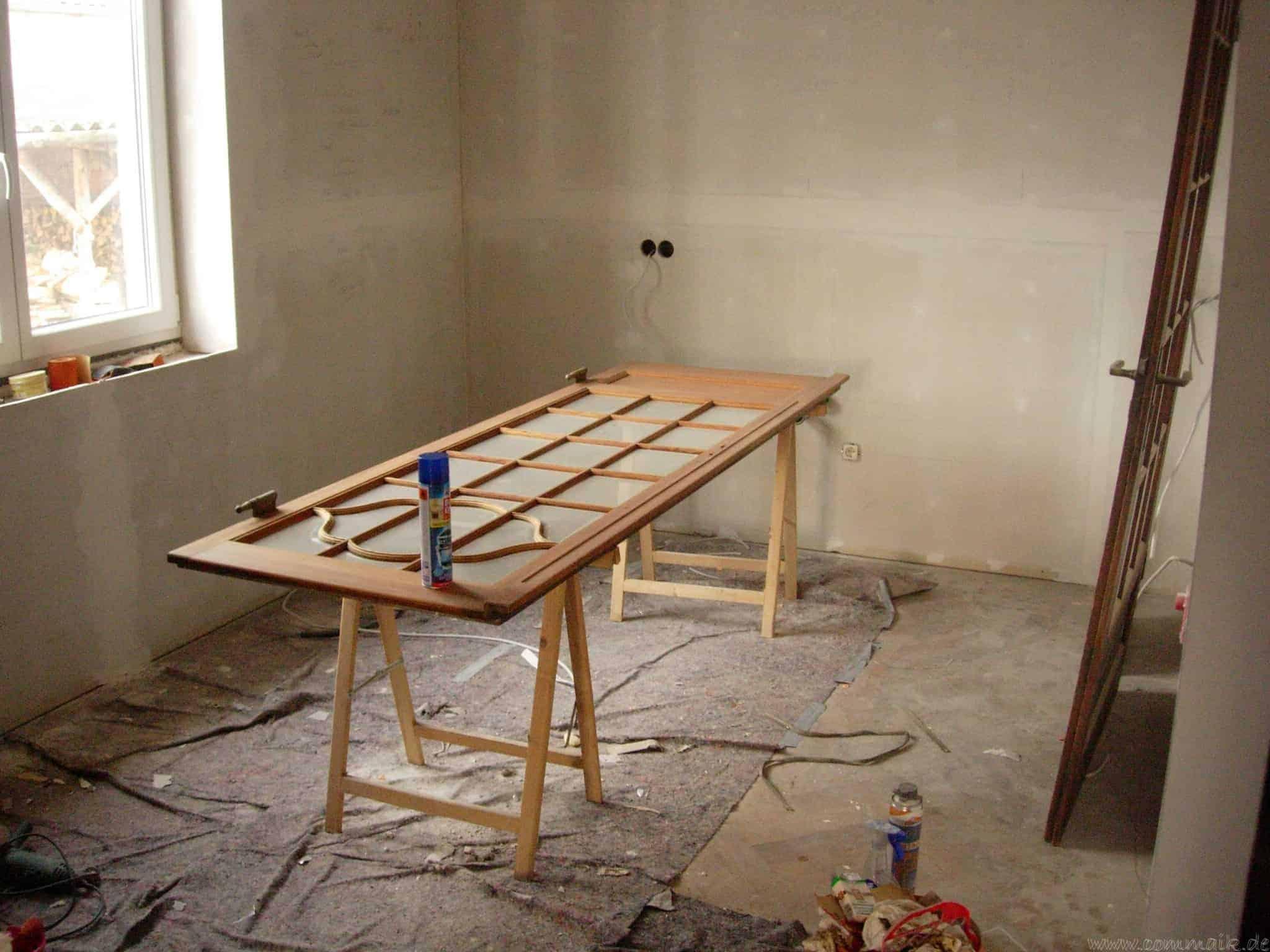 Hervorragend Alte Holztüren entlacken/restaurieren | commaik DT21