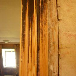 bau des wohnzimmer im obergeschoss 28 - Alte Holztüren entlacken/restaurieren