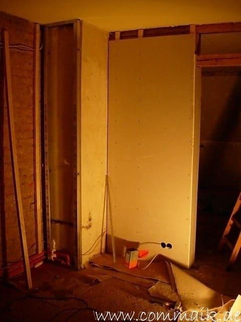 Rundbogen Verkleiden gipskarton im wohnzimmer oder wie einen rundbogen verplankt