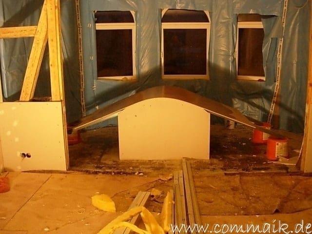 Fabulous Gipskarton im Wohnzimmer oder wie man einen Rundbogen verplankt HJ07
