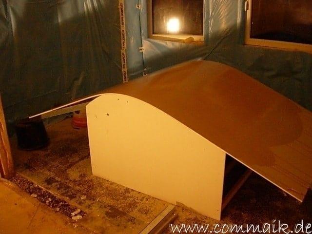 Turbo Gipskarton im Wohnzimmer oder wie man einen Rundbogen verplankt YS63