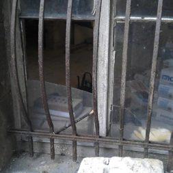 IMAG0440 - Vergitterung/Fenstergitter im Jugendstil restaurieren