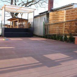 wpc terrasse 0220145 - Aufbringen der WPC Terrassendielen