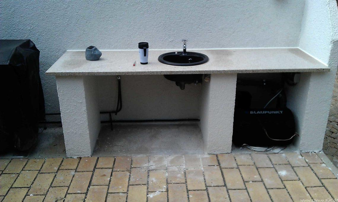 IMAG06772 - Terrassenbereich - Ein Vorher Nacher Vergleich
