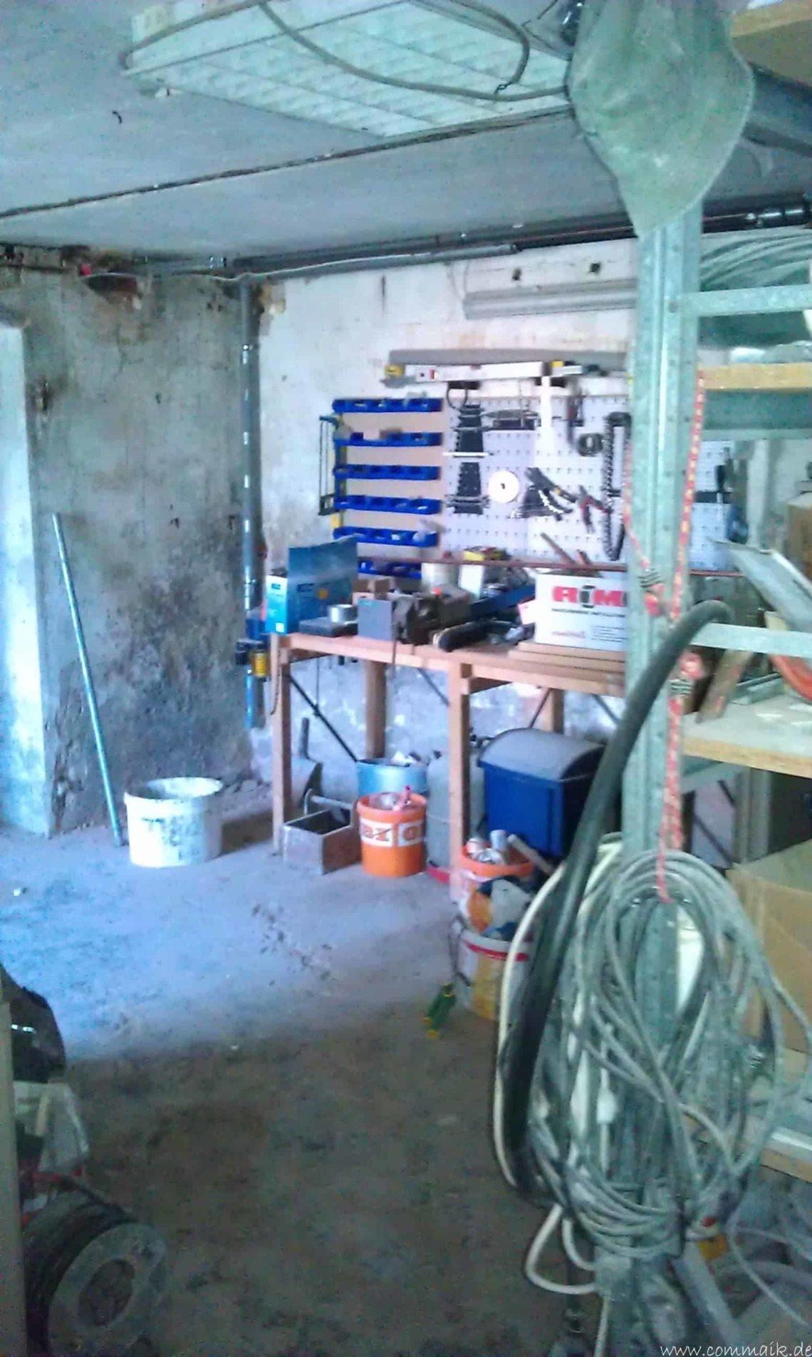 alte werkstatt im keller9 - Vom Abstellkeller zum Maklerbüro - Der alte Keller