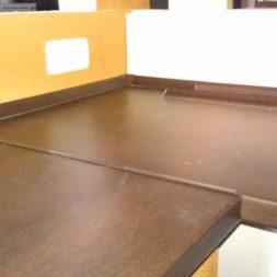 arbeitsplatte bartresen im keller3 - Partyraum im Keller - Die Bar bekommt eine Arbeitsplatte