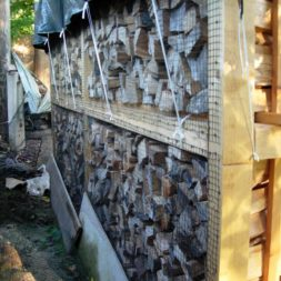 bau eines brennholzlagers 2 - Bildergalerie – Der Garten 1