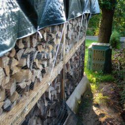 bau eines brennholzlagers 34 - Bildergalerie – Der Garten 1
