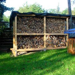 bau eines brennholzlagers 38 - Bildergalerie – Der Garten 3
