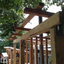 bau eines brennholzlagers 39 - Bildergalerie – Der Garten 3