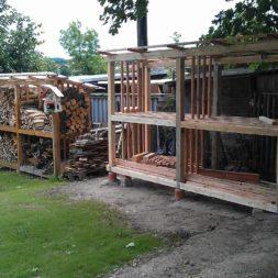 bau eines brennholzlagers 41 - Bildergalerie – Der Garten 3