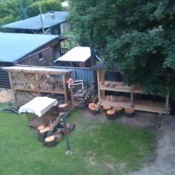 bau eines brennholzlagers 44 - Bildergalerie – Der Garten 4