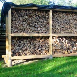 bau eines brennholzlagers 46 - Bildergalerie – Der Garten 1