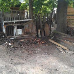 bau eines brennholzlagers 5 - Bildergalerie – Der Garten 3