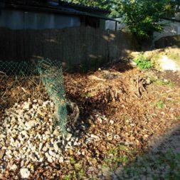 bau eines brennholzlagers 53 - Bildergalerie – Der Garten 1