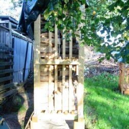 bau eines brennholzlagers 56 - Bildergalerie – Der Garten 1