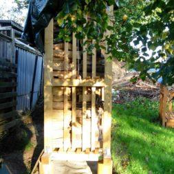 bau eines brennholzlagers 57 - Bildergalerie – Der Garten 1