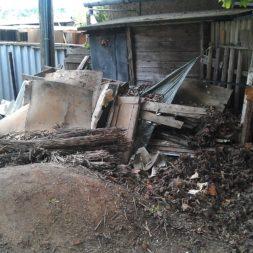 bau eines brennholzlagers 6 - Bildergalerie – Der Garten 3