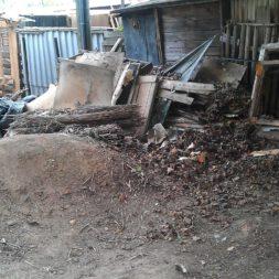 bau eines brennholzlagers 7 - Bildergalerie – Der Garten 3