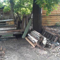 bau eines brennholzlagers 9 - Bildergalerie – Der Garten 3