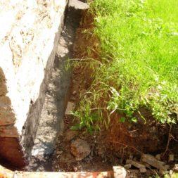 trockenlegen fundament 5 - Bildergalerie – Der Garten 1
