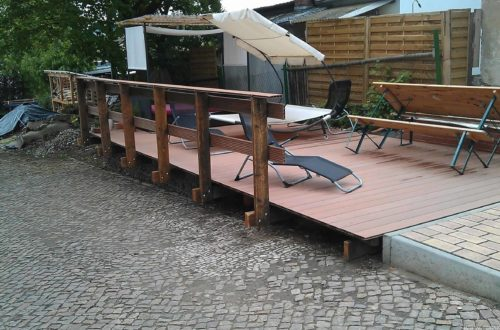 wpc terrassenbau 105 - Bildergalerie vom Terrassenbau