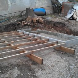 wpc terrassenbau 210 - Bildergalerie – Der Garten 1