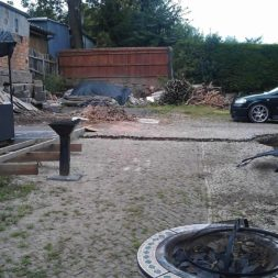 wpc terrassenbau 301 - Bildergalerie – Der Garten 1