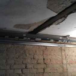 buero im keller bauen24 - Trockenbau und Sanitärinstallation im Keller - Die Kundentoilette entsteht