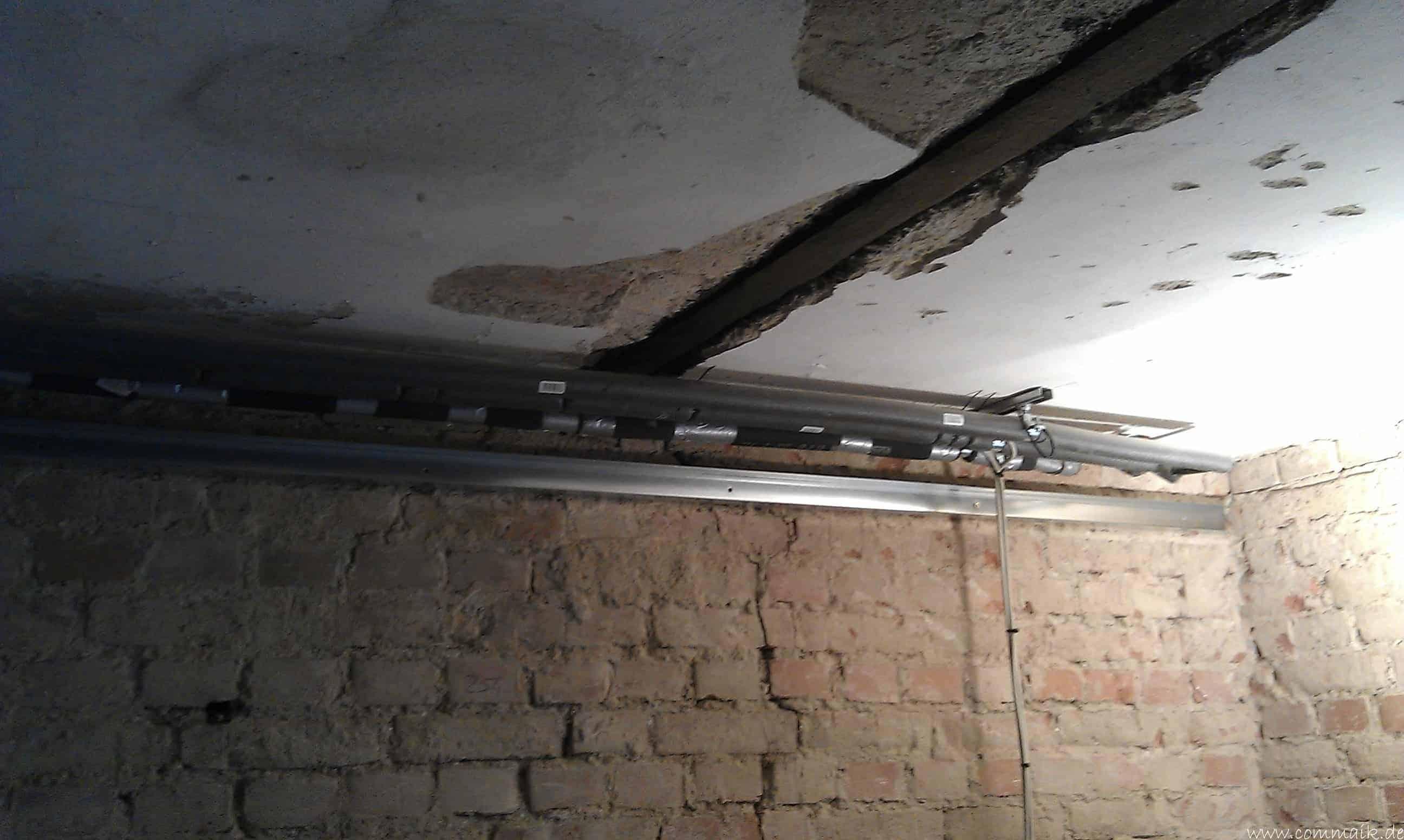 Extrem Trockenbau und Sanitärinstallation im Keller – Die Kundentoilette BK88