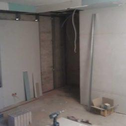 buero im keller bauen43 - Das Maklerbüro im Keller wird fertig gebaut