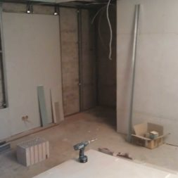 buero im keller bauen44 - Das Maklerbüro im Keller wird fertig gebaut