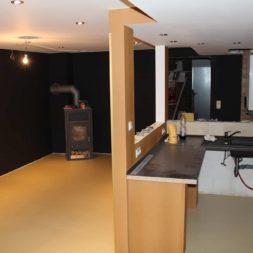 malern boden partyraum im keller 6 - Ein neues Spühlbecken im Partyraum