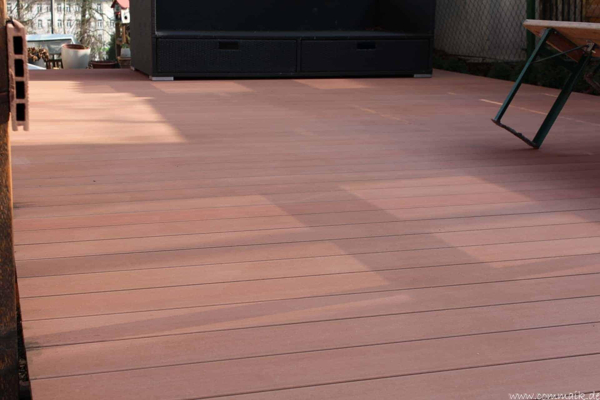 wpc terrassendiele mit hochdruck reinigen | commaik