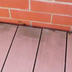 wpc terassendiele reinigen11 - WPC Terrassendiele mit Hochdruck reinigen