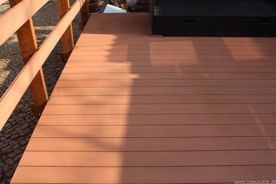 wpc terassendiele reinigen13 - WPC Terrassendiele mit Hochdruck reinigen