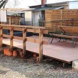 wpc terassendiele reinigen9 - WPC Terrassendiele mit Hochdruck reinigen