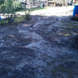 trockenlegen abtransport erde 7 - Trockenlegung des Hauses – Freilegen des Kellerfundaments